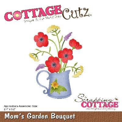 CottageCutz Die-Mom's Garden Bouquet 2.4\