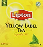 Lipton Yellow Label Quality No. 1 Finest Tea Blend 100 Btl. 200g - Feinster Schwarzer Tee der Premiumklasse
