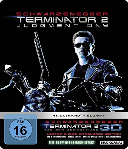 Terminator 2 / Limited 3-Disc Steelbook Edition (4K Ultra HD) [Blu-ray]