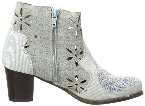 Desigual Damen Shoes_Cris Tigers Stiefeletten Blau (5092 STARLIGHT BLUE)