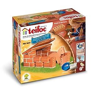 Teifoc TEI 1021 Cuadra - Juego de construcción importado de Alemania