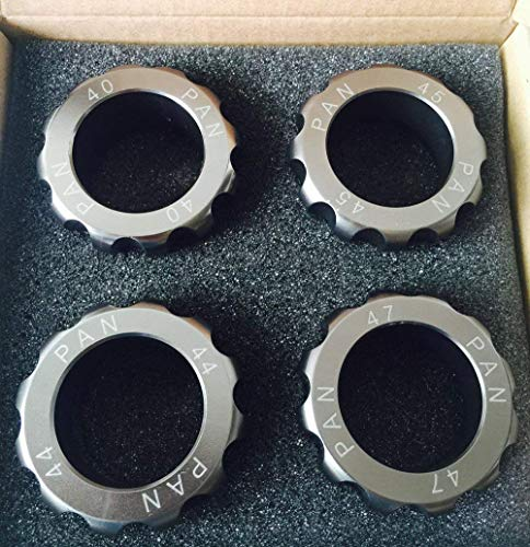 LLF Herramienta de reparación de relojes, relojero de 40 mm, 44 mm, 45 mm, 47 mm, herramienta de apertura...