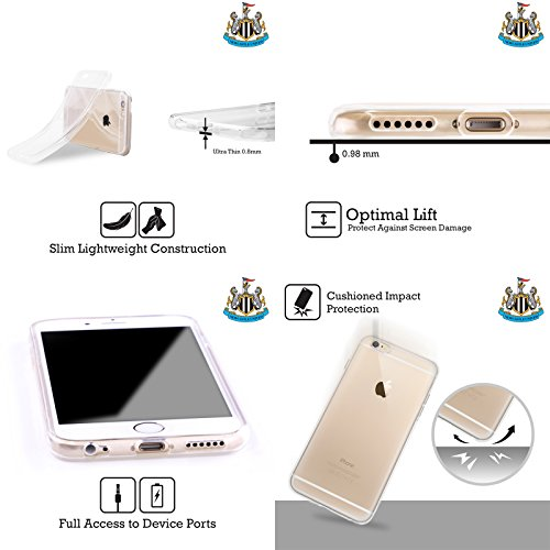 Cover Personalizzata Personale Newcastle United FC NUFC In Casa Colore Pieno 2017/18 Cover Morbida In Gel Per Apple iPhone X Howay The Lads
