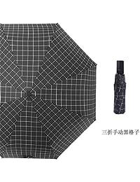 Paraguas Plegables,Paraguas Paraguas de Golf automático 8-Bone compactos monocapa de Apertura y