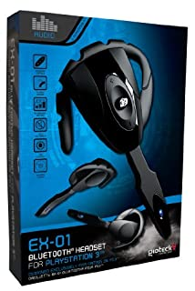 Gioteck - Headset Bluetooth Ex01 (Playstation 3) (B00111SFEU) | Amazon price tracker / tracking, Amazon price history charts, Amazon price watches, Amazon price drop alerts