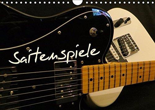 SAITENSPIELE (Wandkalender 2019 DIN A4 quer): Elektrische Gitarren präsentieren sich aus unterschiedlichen Blickwinkeln. (Monatskalender, 14 Seiten ) (CALVENDO Kunst)