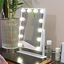 Miroir maquillage professionnel for Miroir a poser sur table