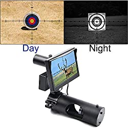 SIHEE Lunette de Vision Nocturne numérique pour la Chasse au Fusil avec Appareil Photo et écran Portable 5