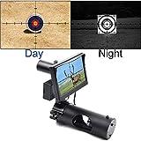 SIHEE Telescopio per Visione Notturna per carabina da Caccia, con videocamera e Display Portatile da 5