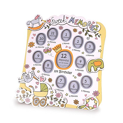 Babies Bloom Baby Sweet Dream First Year Photo Frame