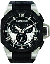 Techno Chrono reloj deportiva para Hombre - Plata