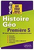 Histoire Geographie Premiere S