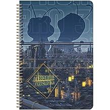 El Hormiguero 240701283 - Cuaderno espiral de tapa dura, tamaño A4