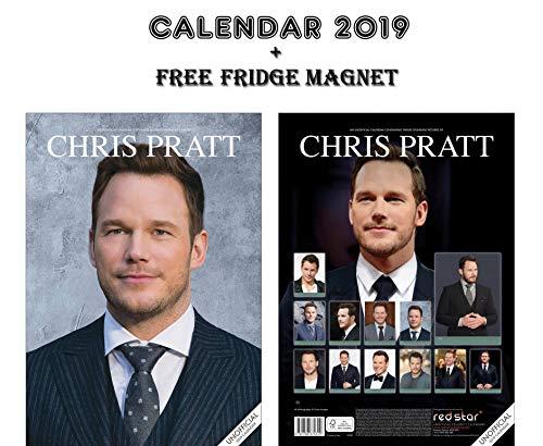CHRIS PRATT CALENDARIO 2019 + CHRIS PRATT CALAMITA DA FRIGO