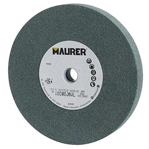 MAURER 8000071898874 - MUELA MAURER CARBURO DE SILICIO 200X25X20 GRANO 80