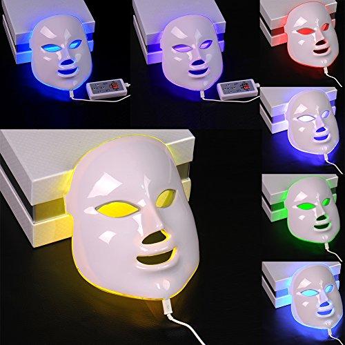 Photon LED Facial Masque rajeunissement de la peau Beauty Therapy 7...