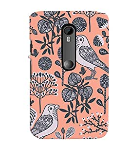 Motorola Moto G3 MULTICOLOR PRINTED BACK COVER FROM GADGET LOOKS