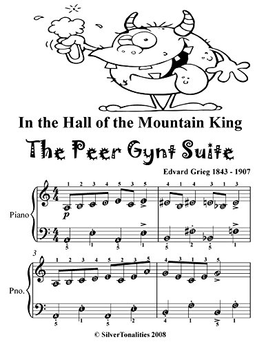 In the Hall of the Mountain King the Peer Gynt Suite Easy Piano Sheet Music Tadpole Edition (English Edition)