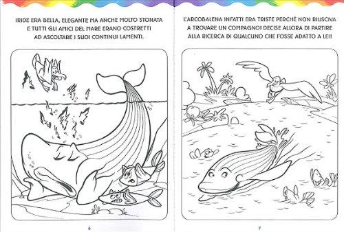 Libro l 39 arcobalena da colorare di massimo sardi - Immagini di colorare le pagine del libro da colorare ...