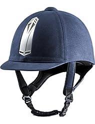 CHOPLIN Bomba–Casco Equitation Aero, azul marino