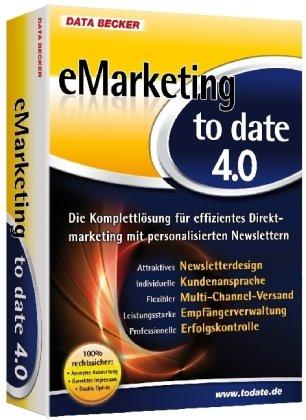 eMarketing to date 4.0, CD-ROM Die Komplettlösung für effizientes Direktmarketing mit personalisierten Newslettern. Für Windows 7, Vista (SP2), XP (SP3), 2000 (SP4)