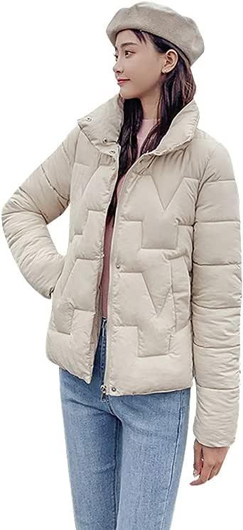 Homebaby Cappotto Donna Invernale Eleganti Slim Parka Caldo Lunghi Trench Ragazza Giacca con Cappuccio Piumino Giubbotto Imbottito in Cotone Taglie Forti Outwear