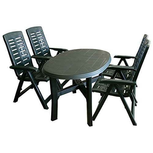 5tlg. Gartengarnitur Gartenmöbel Set