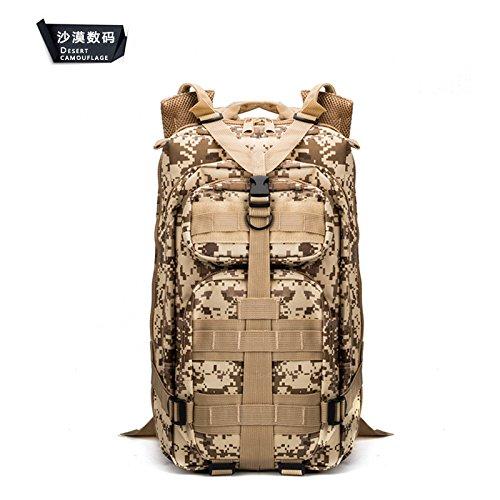 Multifunctional borse tracolla tempo libero zaino camouflage escursionismo zaino campeggio 43*26*23cm,CP color CP Color