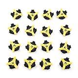 16 Stück Universal-Spikes für Golfschuhe, rutschfest-Schuhplatten