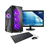 Sedatech Ultimate Gaming PC Komplett-Paket Intel i9-9900K 8x 3.60GHz, Geforce RTX 2080 8Gb, 32GB RAM DDR4 3000Mhz, 1TB SSD M.2 PCIe, 3TB HDD, USB 3.1, Wlan, Bluetooth, HDMI 2.0. Rechner & 23.6