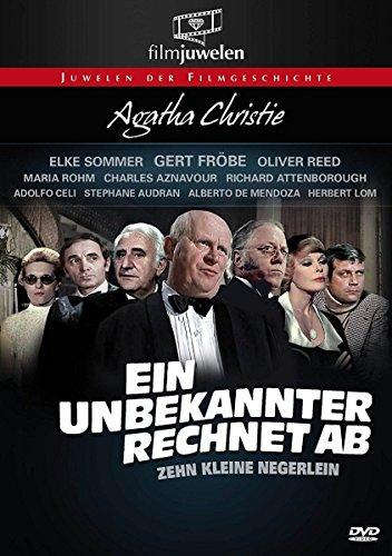 Bild von Agatha Christie: Ein Unbekannter rechnet ab (Zehn kleine Negerlein) - Filmjuwelen