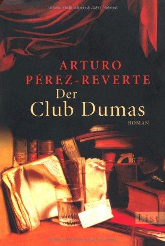 Buchseite und Rezensionen zu 'Der Club Dumas' von Arturo Pérez-Reverte