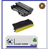 DR3100 Tambor +TN3170 Tóner +tambor compatible para Brother MFC-8460N. MFC-8860DN. MFC-8870DW. HL5250DN. HL5240. HL5240L. HL5270. HL5280DWDCP8060DN, DCP8065DN, MFC8460N. MFC8860DN. MFC8870DW.(Pack Ahorro). Enviado desde Madrid.