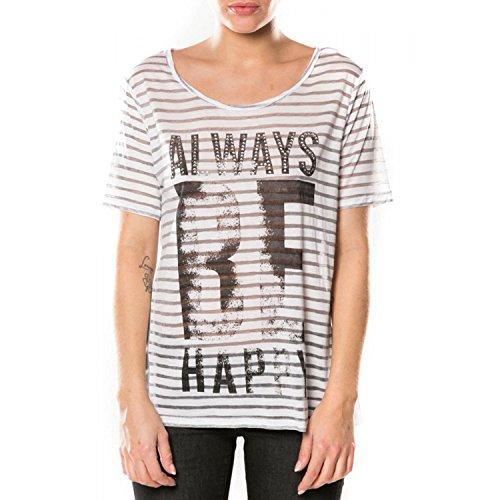 T-shirt Deeluxe Alison Ink Blue Gris