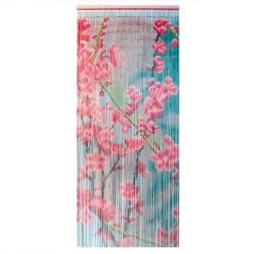 Luance 650Vorhang Tights Motiv Blatt bambus 90x 90x 200cm Rose