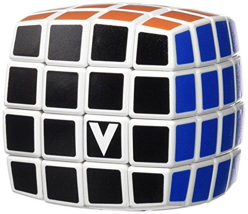 Verdes Innovation - Cube Officiel Des Championnats De France De Speed Cubing V-Cube 4 bombé face Noire