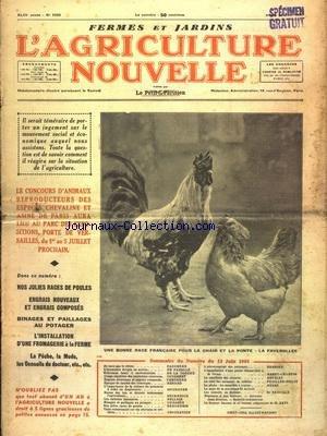 La Fromagerie A La Ferme - AGRICULTURE NOUVELLE (L') [No 1833] du 13/06/1936