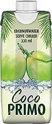 COCO PRIMO Kokosnusswasser 100 % Pur, 12er Pack (12 x 330 g)