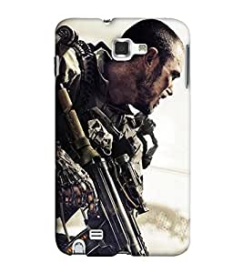 EagleHawk Designer 3D Printed Back Cover for Samsung Galaxy Note 1 - D211 :: Perfect Fit Designer Hard Case