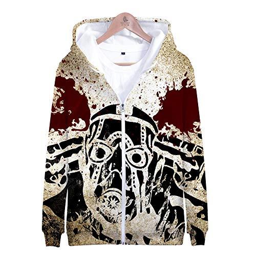 ruck Männlich Weiblich Hoodie Kapuzenpullover Langarm Sweatshirt Kapuzenjacke Mit Taschen Reißverschluss Borderlands ()