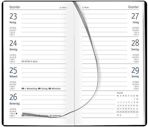 GÜSS Taschenkalender 2020, Nr. 58800, 128 Seiten, 1 Woche = 2 Seiten, Einband Tucson, Größe: 8,7cm x 15,3cm