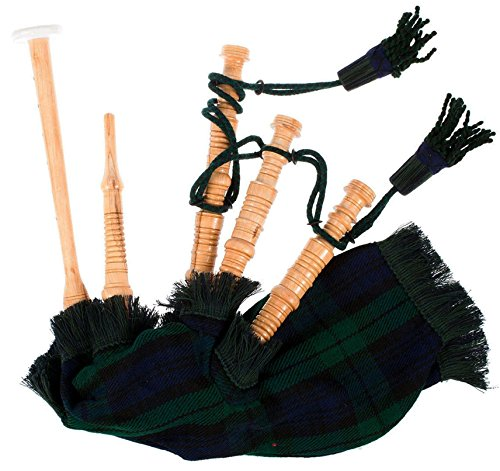 Bagpipe Miniature Spielbar Bagpipe mit Reed Black Watch