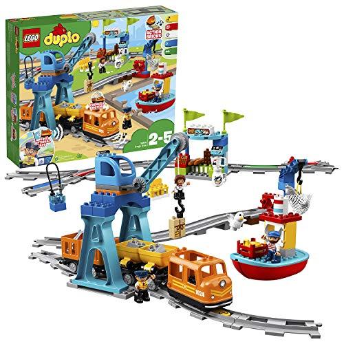 LEGO DUPLO Town - Tren de mercancías (10875)