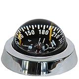 Silva Kompass Mod. 85 verchromt mit Beleuchtung