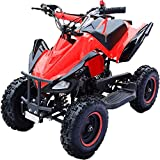 Hanking Planet - Mini quad Speedy con motore automatico 49 cc a 2 tempi, per bambini