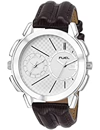 Laurels Silver Color Analog Men's Watch With Strap: LWM-HLK-070907