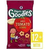 Organix Organic Goodies Spicy Tomato Stars 4 x 15g