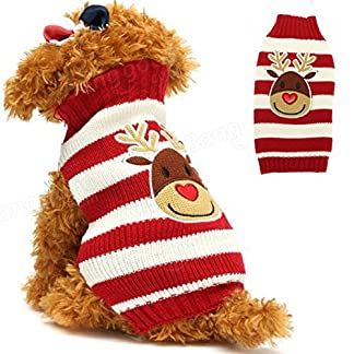 doggie style store reindeer rudolph christmas xmas knitted cat kitten jumper - 7 sizes Doggie Style Store Reindeer Rudolph Christmas Xmas Knitted Cat Kitten Jumper – 7 Sizes 51ps3vcoYRL