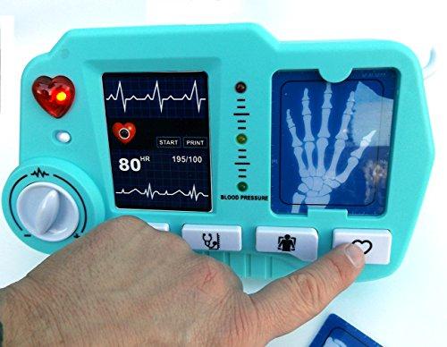 ⛑ Spielzeug EKG – und Röntgen Gerät mit realistischer Funktion- darf in keinem Spielzeug Arztkoffer fehlen ⛑ - 2