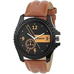Espoir Smart HIGH QUALITY Chronograph Look Black Dial Men's / Boy's Watch - Harry0507
